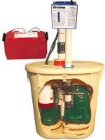 TripleSafe Sump Pump Installation in Wisconsin