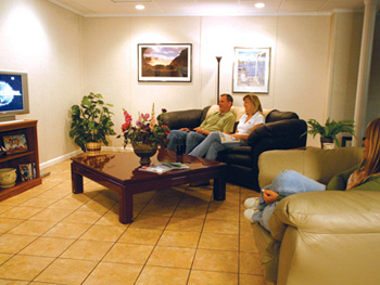 Finished Basement Flooring Tiles In Madison Wi Easy To Install With Basement  Living Room.