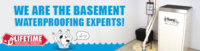 Basement Waterproofing in Milwaukee & Madison, Wisconsin